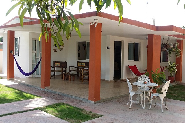 Porsh at Casa 46, Playa Larga, Ciénaga de Zapata, Matanzas, Cuba