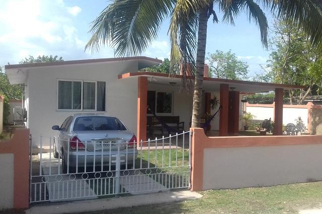 Parking at Casa 46, Playa Larga, Ciénaga de Zapata, Matanzas, Cuba