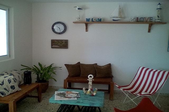 Air-contioned areas at Casa 46, Playa Larga, Ciénaga de Zapata, Matanzas, Cuba