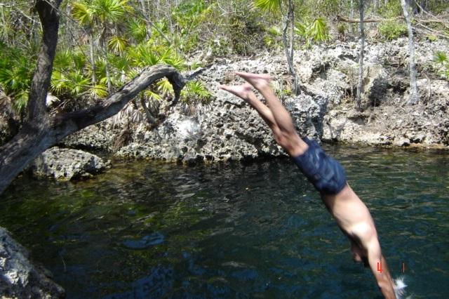Cueva de los peces, attractions of Casa 46, Playa Larga, Ciénaga de Zapata, Matanzas, Cuba