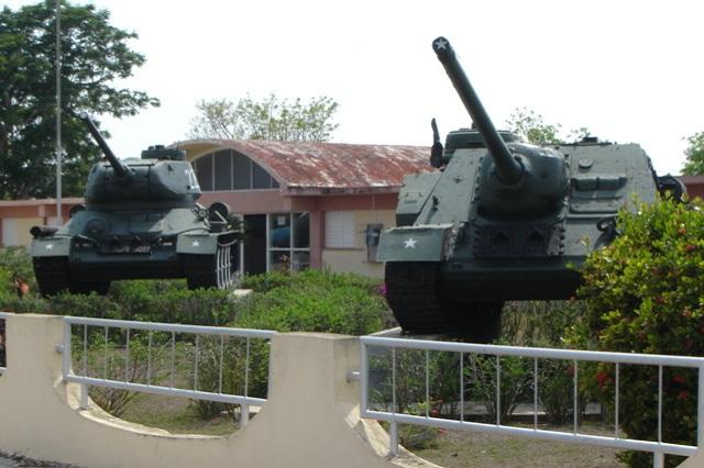 Batalla de Girón (Bay of Pigs) Museum, attractions of Casa 46, Playa Larga, Ciénaga de Zapata, Matanzas, Cuba