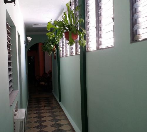Pasillo en Hostal Yuliet y Ariel, Cienfuegos, Cuba