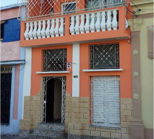 Fachada de Hostal Yuliet y Ariel, Cienfuegos, Cuba