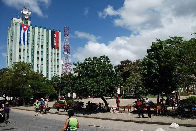 Park Leoncio Vidal, close to Hostal Aliana, Santa Clara, Villa Clara Cuba