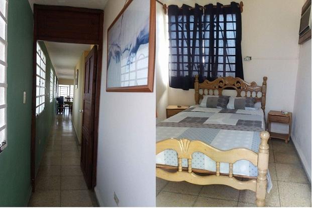 Acogedores espacios en Casa Lourdes, Guanabo, La Habana, Cuba
