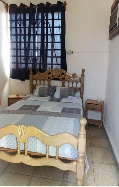Casa Lourdes, Guanabo, La Habana, Cuba. Habitación.