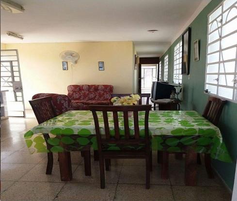 Casa Lourdes, Guanabo, La Habana, Cuba. Comedor.